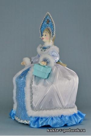 фото чайная кукла с фарфоровой головой и руками