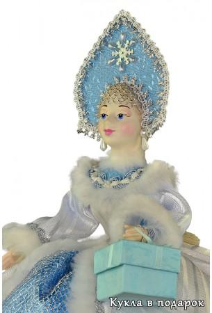 Московский сувенир хорошая чайная кукла