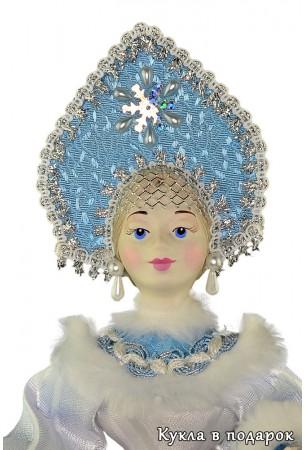 Красивая чайная кукла подарок ручной работы