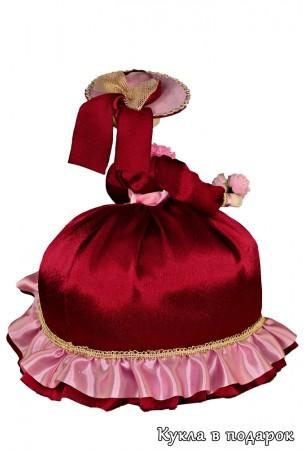Кукла чехол для заварочного чайника. Простегана синтепоном