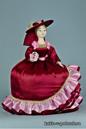фото грелка на заварочный чайник кукла в подарок