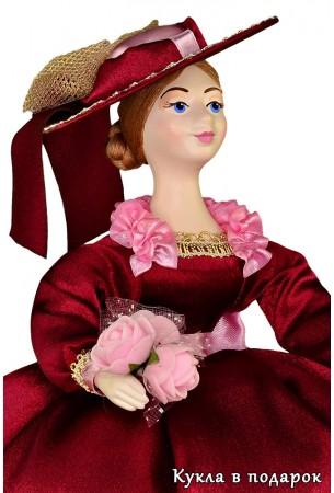 Красивая кукла грелка на заварочный чайник
