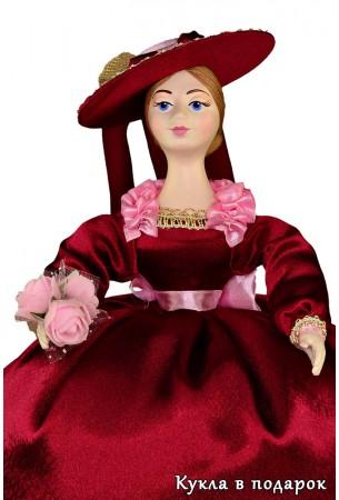 Цветы в руках куклы грелки на заварочный чайник