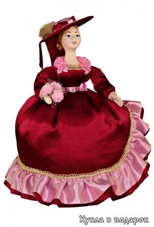 Кукла грелка подарок на заварной чайник