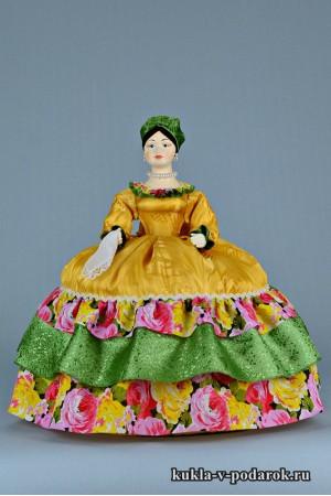 фото Купчиха на чайник авторская кукла грелка