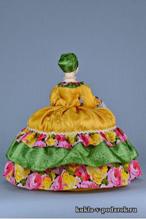 фото Купчиха на чайник кукла грелка подарок к чаю