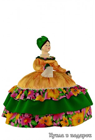 Купчиха на чайник кукла авторской работы