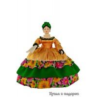 Кукла грелка на чайник русская Купчиха