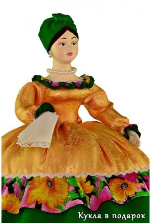 Купчиха на чайник кукла ручной работы