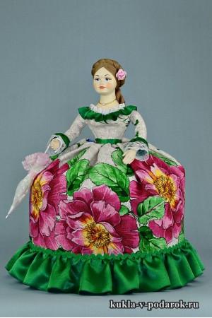 Кукла с зонтиком подарок на день рождения