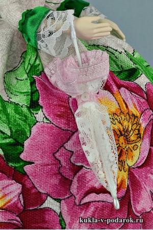 Зонтик ручной работы куклы в подарок