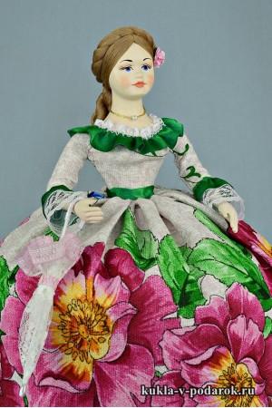 Кукла с зонтиком работа автора