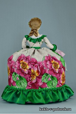 Кукла с зонтиком грелка чайница
