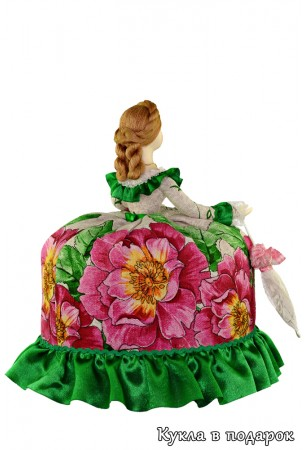 Кукла с зонтиком подарок из Москвы