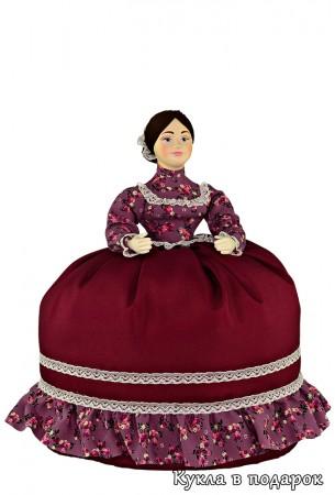 Деревенская казачка в праздничном платье