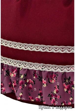 Детали ткани казачьей юбки