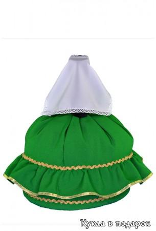 Подарок татарке кукла в зеленом платье