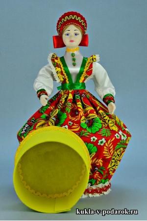 Фото русская шкатулка кукла ручной работы