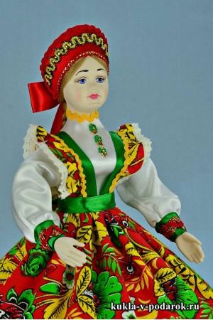 Фото русская шкатулка кукла в подарок