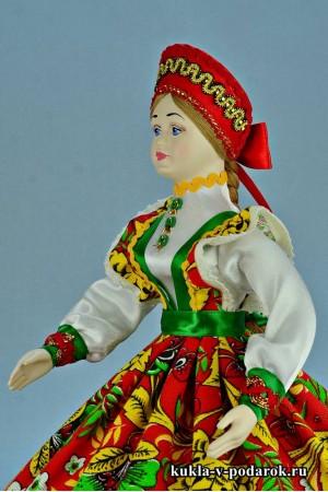 Фото рукодельная кукла русская шкатулка