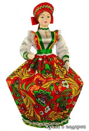 Русский подарок кукла шкатулка