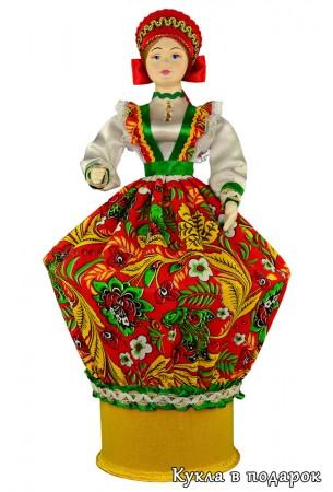 Внутри куклы прячется секрет - шкатулка