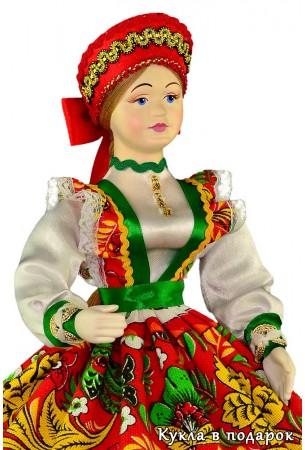 Кукла в подарок  шкатулка для мелких украшений