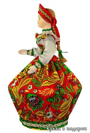 Русский сувенир - шкатулка в виде куклы