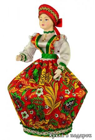 Смотрите, какая шкатулка в виде русской куклы