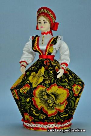 Фото шкатулка кукла в подарок из Москвы