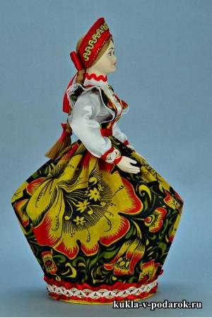 Фото шкатулка в подарок в русском стиле Хохлома