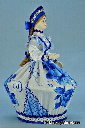 Фото шкатулка ручной работы кукла с фарфоровой головой и руками