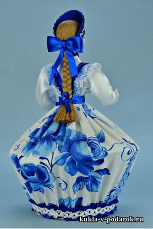 Фото шкатулка ручной работы кукла с длинной косой