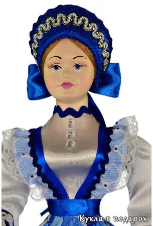 Необычная шкатулка кукла сделанная вручную