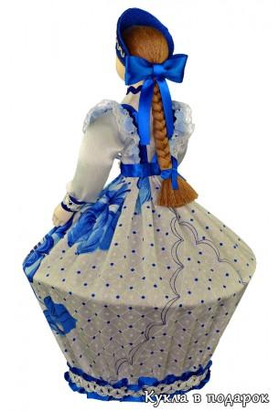 Оригинальный подарок шкатулка кукла в русском стиле