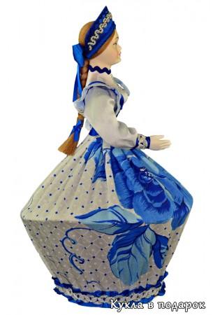 Подарок ручной работы кукла шкатулка