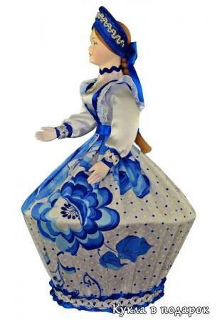 Русская шкатулка кукла  ручной работы