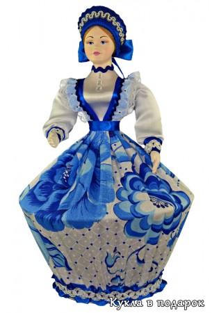Ручная работа кукла шкатулка в подарок