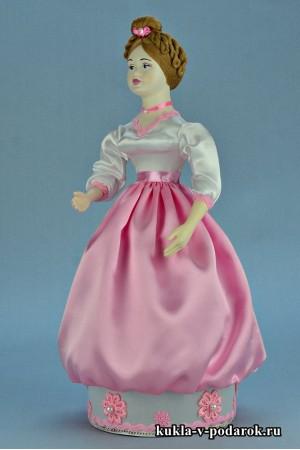 Фото красивая кукла шкатулка подарок для девушки на день рождения