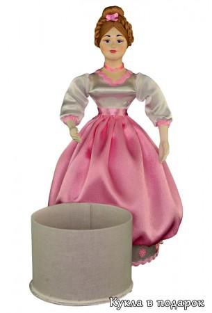 Шкатулка красивая кукла с коробочкой внутри
