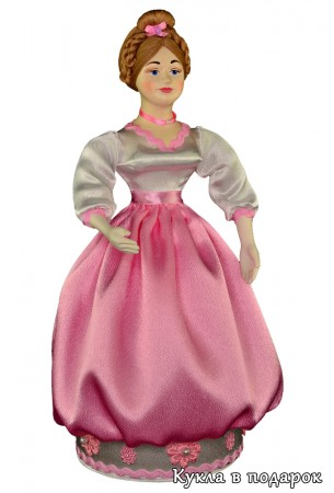 Красивая ручная работа - кукла шкатулка