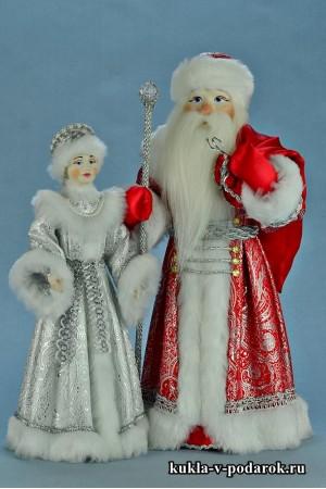 Интерьерные новогодние куклы