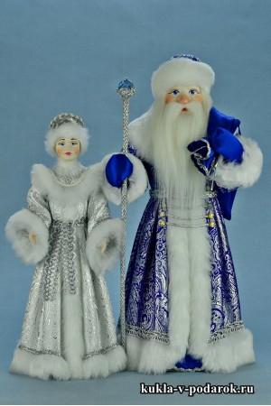 Новогодний хендмейд куклы ручной работы