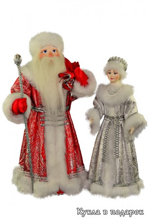 Интерьерные новогодние куклы игрушки