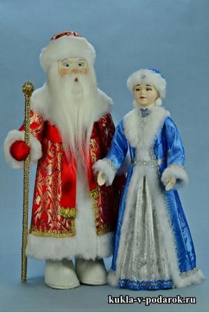 Набор новогодних кукол в подарок