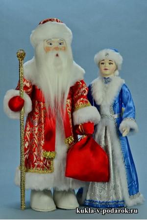 Новогодний подарок куклы ручной работы