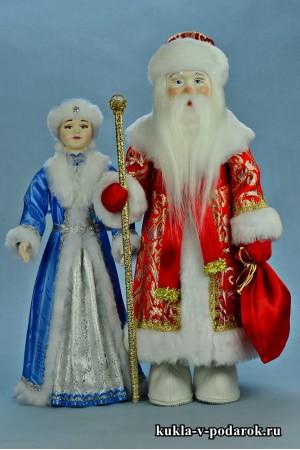 Новогодний подарок хенд мейд куклы