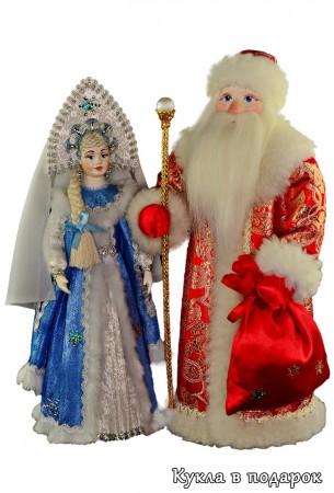 Авторские новогодние куклы