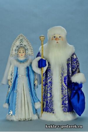 Авторские куклы на Новый год