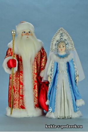 Авторские текстильные новогодние куклы